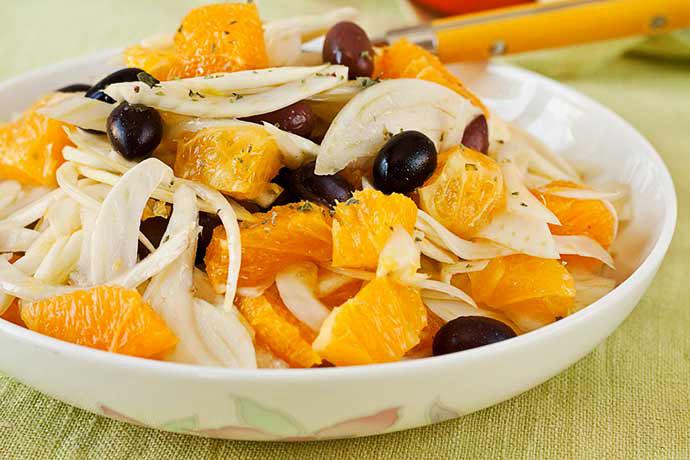 Oranges Salad