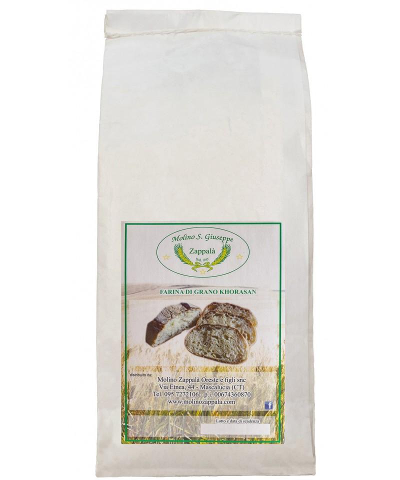 Molino S.Giuseppe Zappalà Khorasan flour Stone milling LOW GLUTEN CONTENT MLF02 Molino Zappalà