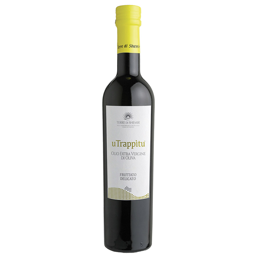 "Land of Shemir Delicate extra virgin olive oil ""U trappitu"" TSO01 Terre di Shemir"