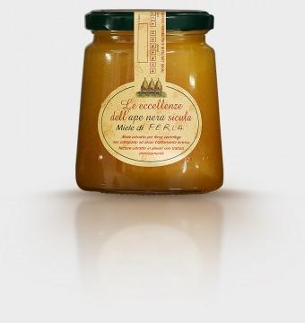 Amodeo Carlo Ferla honey Bio Sicilian black bee ACAMCAFER20 Apicoltura Carlo Amodeo