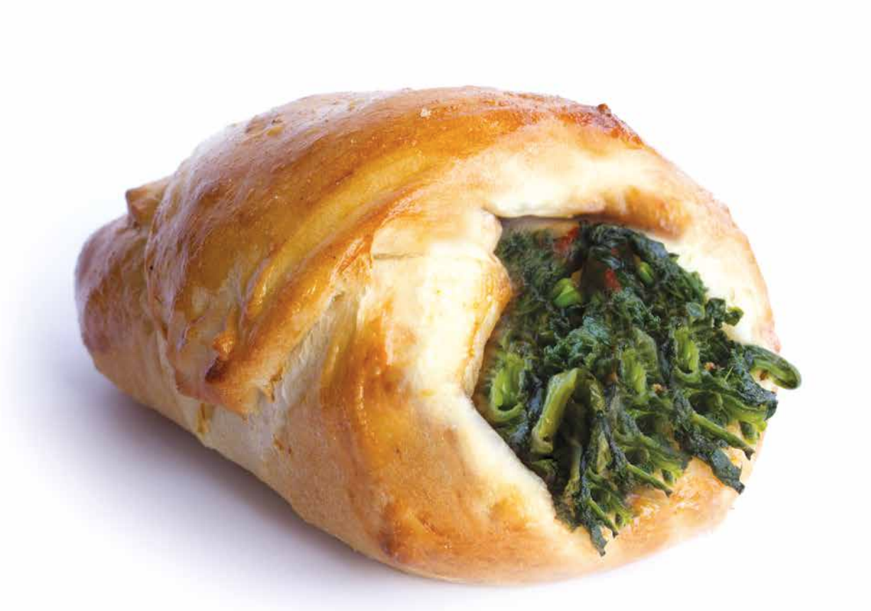 Sicilian cartocciata with spinach PSTA12