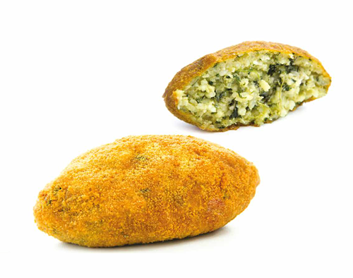 Sicilian Arancini with spinach PSTA03