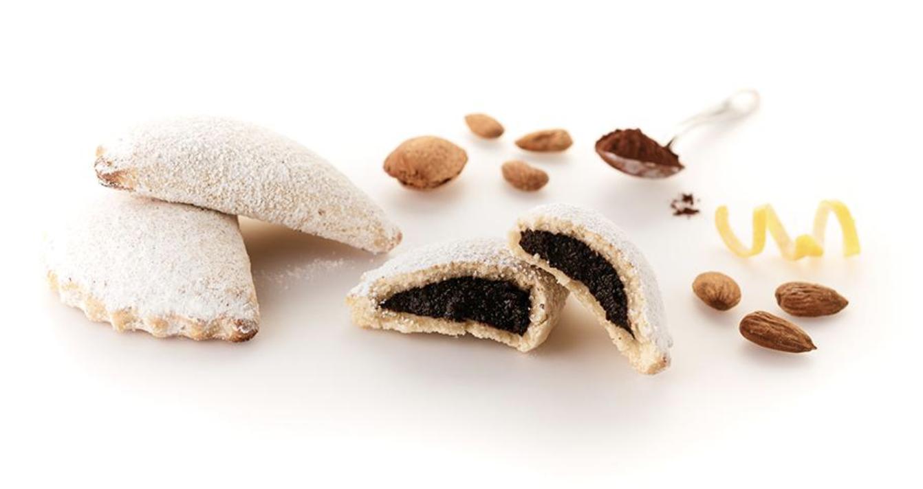 Cassatella Siciliana  Di Agira chocolate BDCC20 La bottega delle cassatelle
