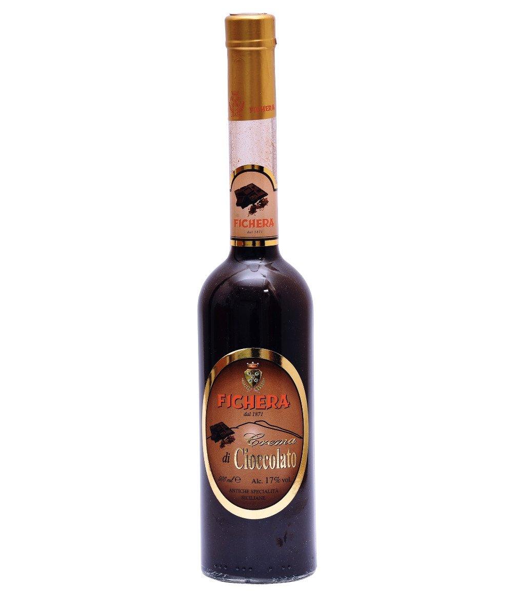 Fichera chocolate cream liquor, 17 ° alcohol content, 500ml FCRL06 Fichera