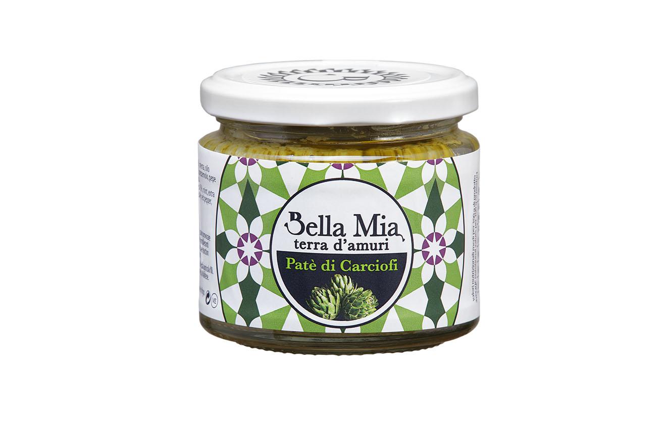 Bellamia gourmet artichoke cream flavored with Mediterranean essences BGCA1 Bellamia gourmet