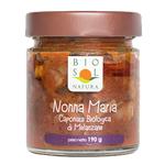 BioSolNatura Organic eggplant caponata Nonna Maria 190 gr BSNTM06 Bio Sol Natura